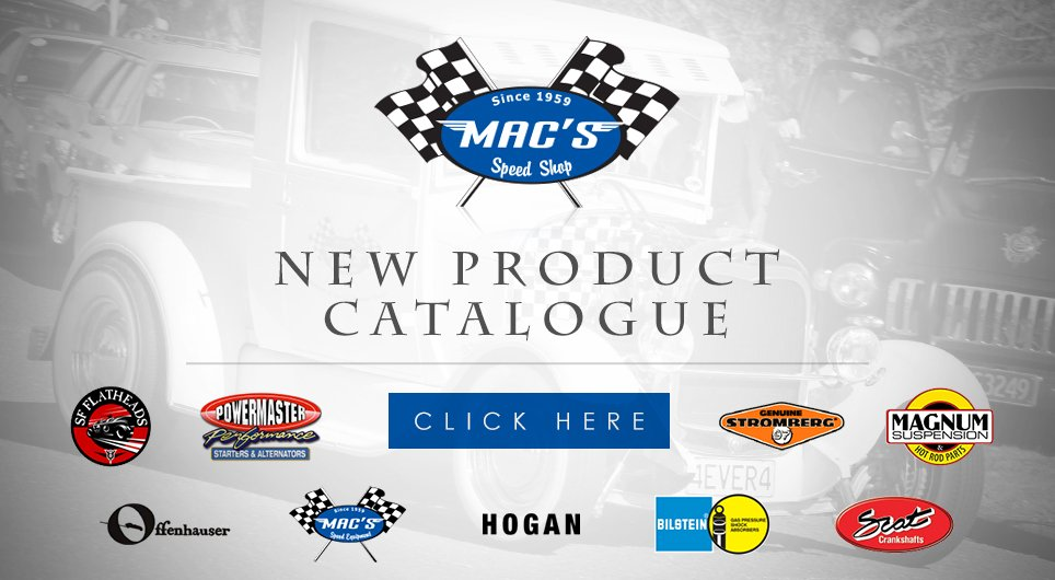Mac's Speed Shop products